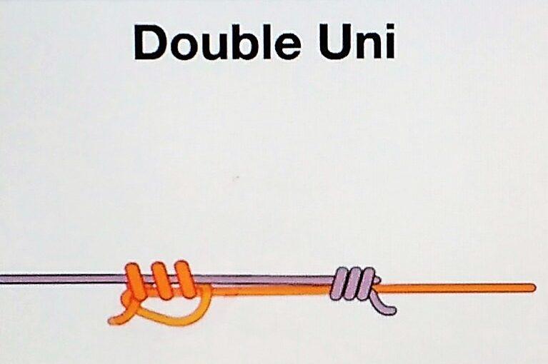 Как да направим възли на основното влакно и повода?